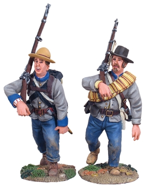 Confederate Infantry Marching Set #1