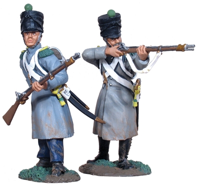 French Lt Inf Voltigeurs Firing Line Set #1
