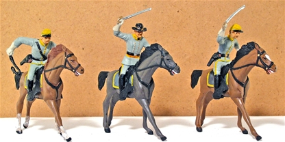 Civil War Confederate Cavalry - fully painted