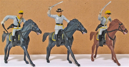 Civil War Confederate Cavalry - basic painted