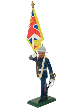 Royal Marine Standard Bearer - Queen's Colour
