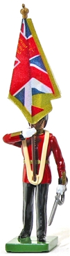 Scots Guard Colour Bearer - Queen's Colour