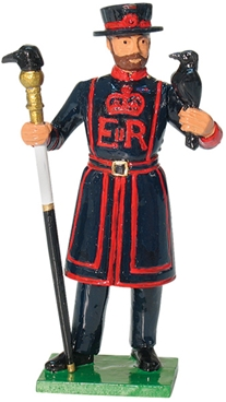Ravenmaster - Tower of London - ONLY 1 REMAINS