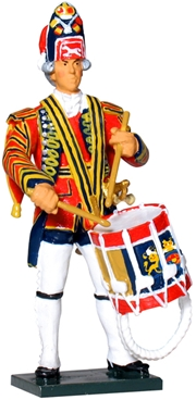 British Drummer - 1st Foot Guards - 1754-63