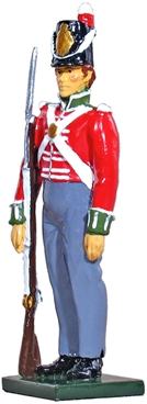 British Private 54th Regiment of Foot - 1812-1815