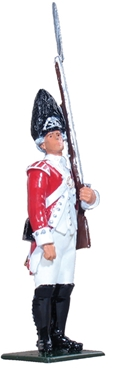 British Grenadier 47th Foot - 1775-1777