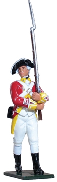 British Private 29th Regiment of Foot - 1768-1770