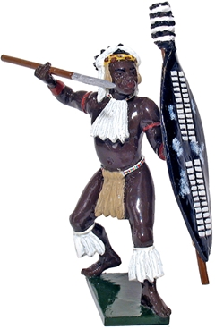 Zulu inGobamakhosi Regt Throwing Spear #1