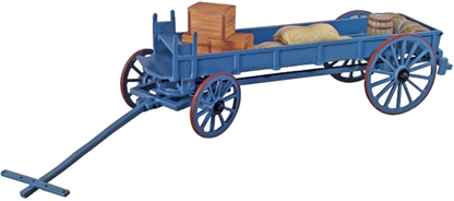 British Ox Wagon and Supplies