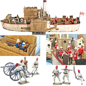 British Nile River Gunboat - 1 in stock