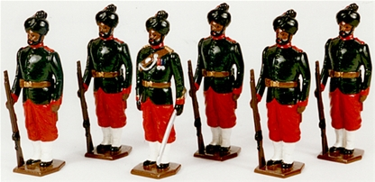 29th Bombay Infantry (2nd Baluchis) - 1890