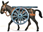Mule w/ Gun Axel and Wheels - Mountain Artillery