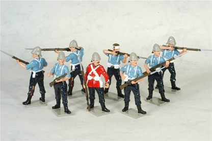 Zulu War 24th Regiment of Foot Set #2