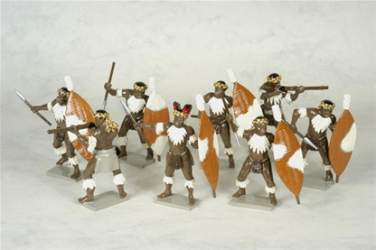 Zulu Warriors - Unmarried iNdlugyengwe Regiment