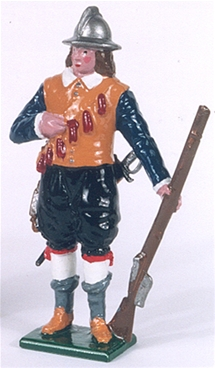 English Civil War Musketeer of the Trained Bands