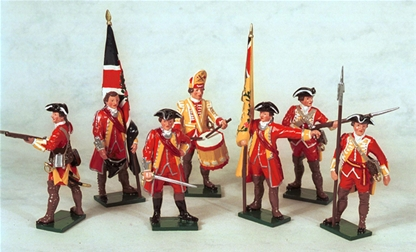 British Infantry Command - French and Indian War