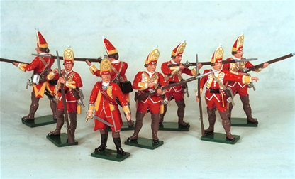 British Grenadier Co. Set 1 - French & Indian War