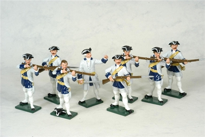 French Infantry Set #2 - French and Indian War
