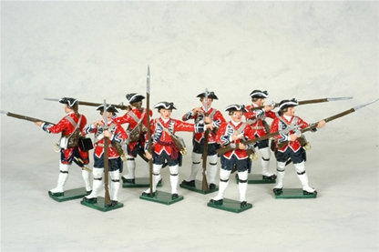 Seven Years' War - British Infantry 1756-63