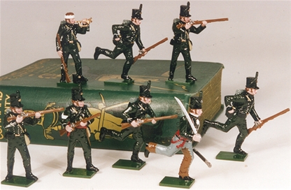 Napoleonic British 95th Rifles - 1810