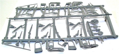 Civil War Weapons Sprue