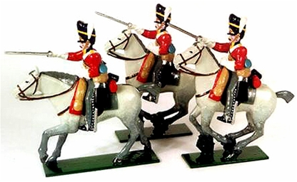 Napoleonic Royal Scots Greys British Cavalry