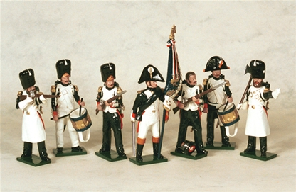 French Imperial Grenadiers of the Guard Command