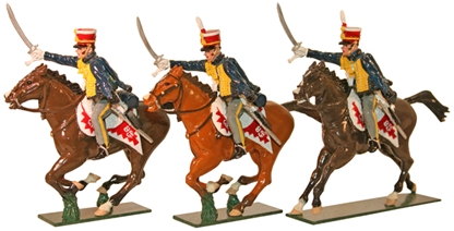 The 10th Prince of Wales Hussars Troopers