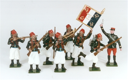 French Zouave Command Unit 1914