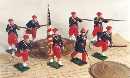 5th New York Zouaves in Action