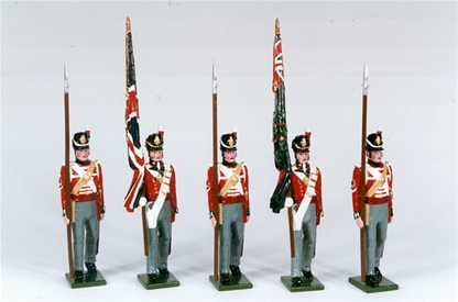 British Infantry of the Line 1812