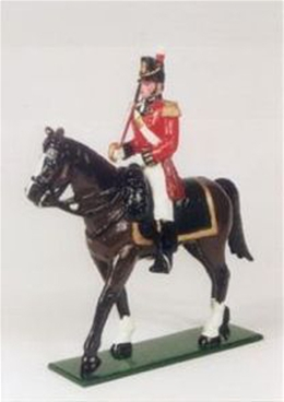 British Officer of the Line 1812