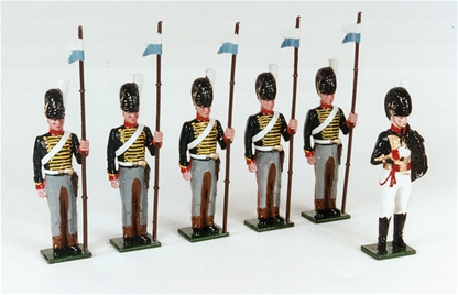 Mounted Rocket Corps of the RHA 1815