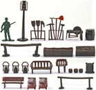 Western Town Accessories