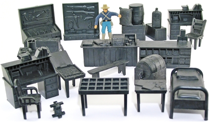 Western Storefronts and Jail Accessories