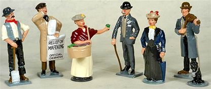 Victorian Life Set #1 retired set only 1 in stock