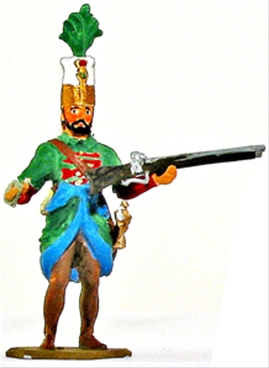 Turkish Janissary Trooper with Musket