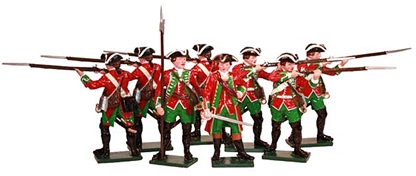 51st Brudenell's Regiment of Foot at Minden 1759