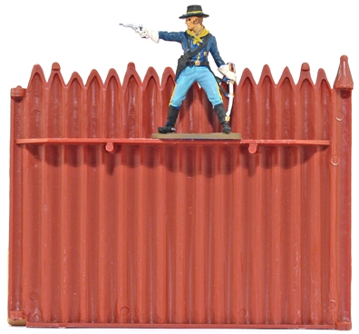 Fort Apache Stockade Wall with Firing Step