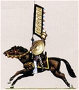 Saracen Banner Bearer - Mounted