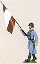 French Infantry Flag - 1941