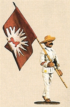 Rebel Flagbearer - Philippines 1898