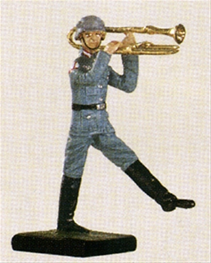 German Marching Band - Trombone Player