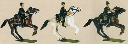 Union Cavalry Charging
