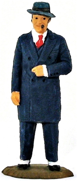 Al Capone Character Figure - fully painted
