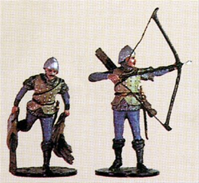English Longbowmen