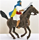 Mounted Arab - Charging with sword