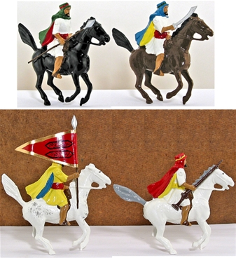 Arabs of the Desert - Horse-Mounted Set