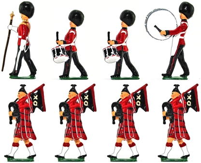 Pipes and Drums of the Scots Guards