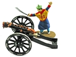 Chinese 'Dragon' Cannon - iron barrel - 3 left